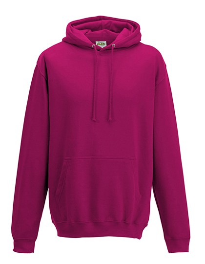 College Hoodie hot pink