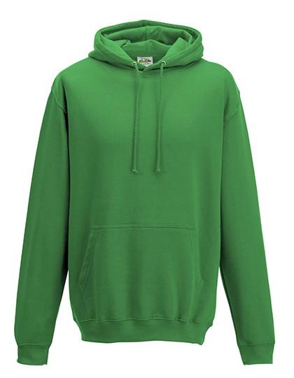 College Hoodie kelly green