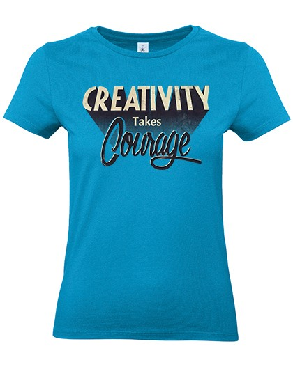 Frauen Basic T-Shirt E150
