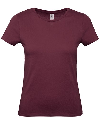 Basic T-Shirt Exact 150 Burgundy
