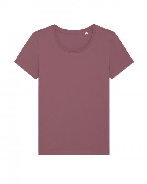 T-Shirt Stella Expresser Hibiscus Rose für Frauen mit Motiv bedrucken