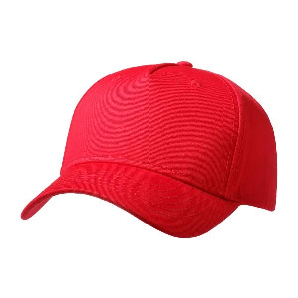 Premium Cap Flat Front besticken rot