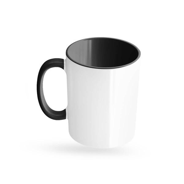 Tassen bedrucken schwarz