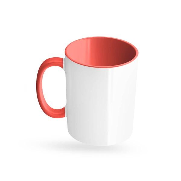 Tassen bedrucken rot