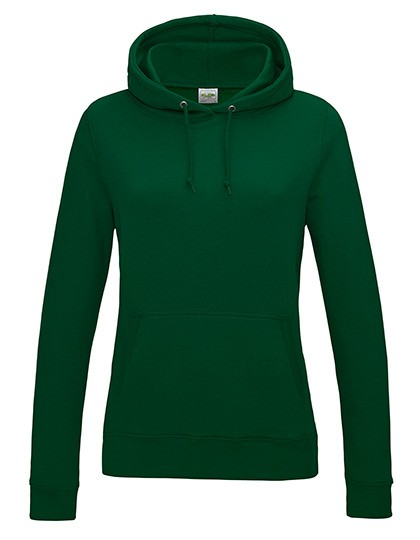 Girlie College Hoodie bottle green