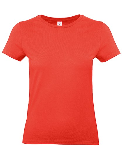 Frauen Basic T-Shirt E190