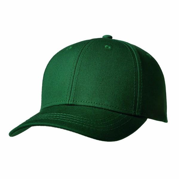 Premium Cap mit Metallverschluss dunkelgrün