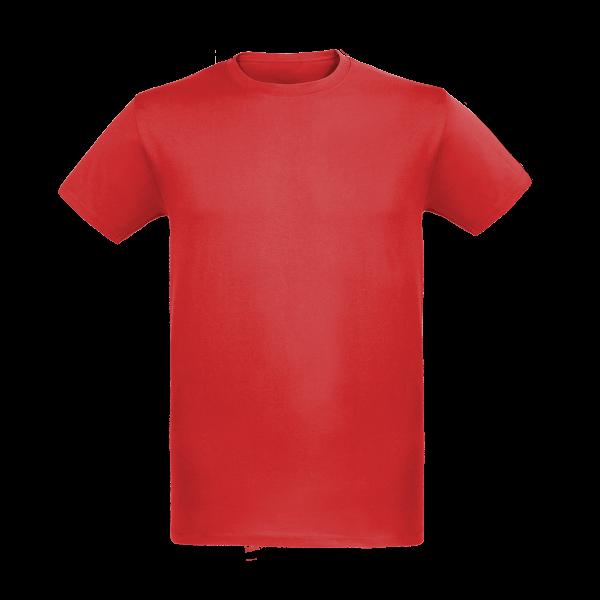 Premium Herren T-Shirt fire red