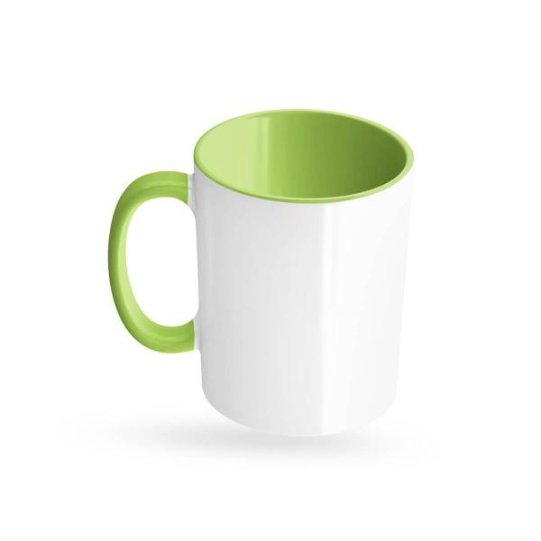 Tassen bedrucken grün