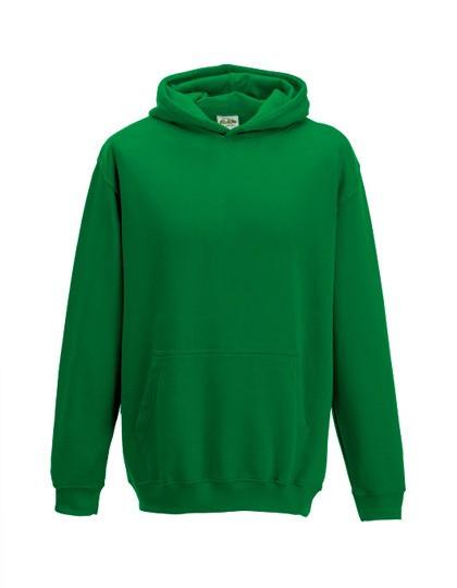 Kids Hoodie Kelly green