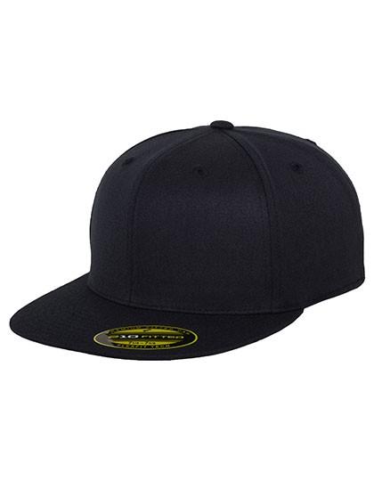 Flexfit Cap ohne Öffnung mit Gummizug besticken lassen, dunkel grau