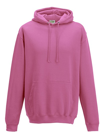 college hoodie candyfloss pink