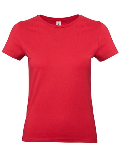 Frauen T-Shirt Exact 190 rot