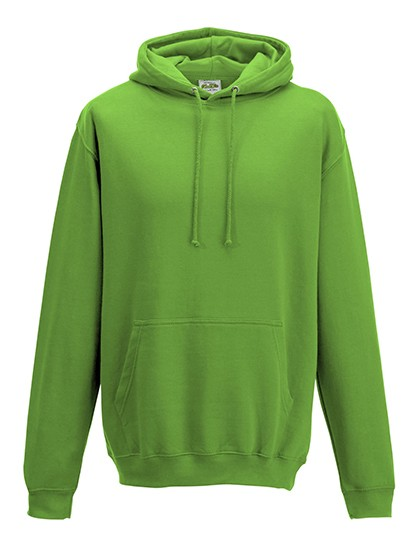 college hoodie lime green