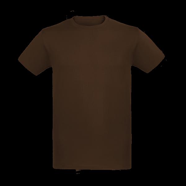 Premium Herren T-Shirt braun