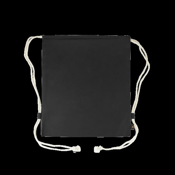 Turnbeutel Premium schwarz