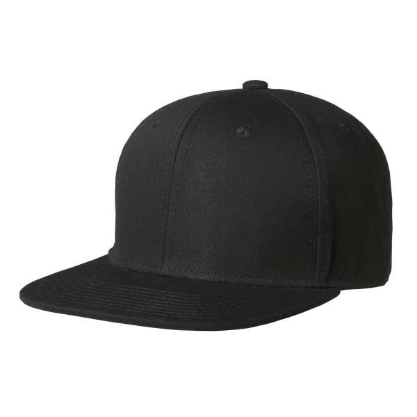 Premium-Cap mit Snapback besticken schwarz