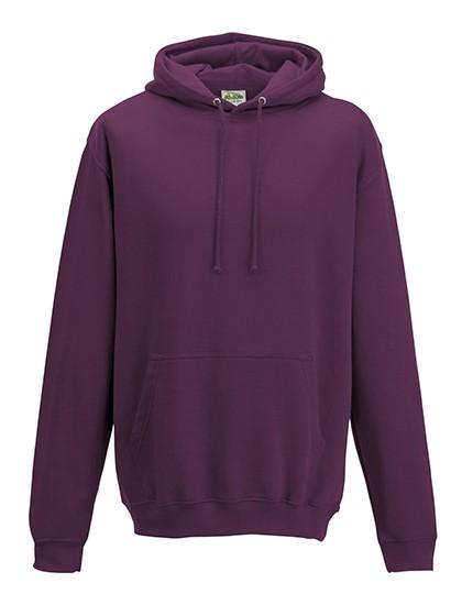 college hoodie plum
